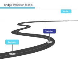 Implementation Management In Enterprise Bridge Transition Model Ppt Slide