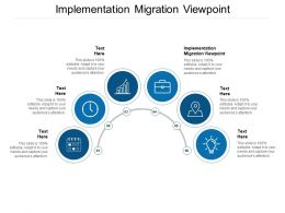 Implementation Migration Viewpoint Ppt Powerpoint Presentation Templates Cpb