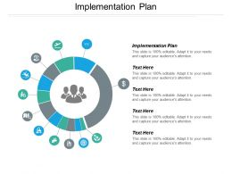 Implementation Plan Ppt Powerpoint Presentation Icon Slides Cpb
