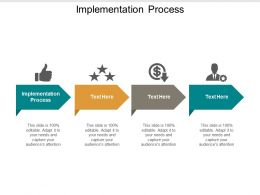 Implementation Process Ppt Powerpoint Presentation Gallery Template Cpb