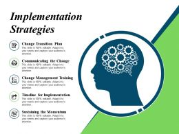 Implementation Strategies Ppt Inspiration