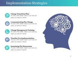 Implementation Strategies Sample Presentation Ppt