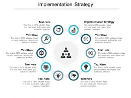 Implementation Strategy Ppt Powerpoint Presentation Styles Template Cpb