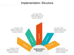 Implementation Structure Ppt Powerpoint Presentation Styles Show Cpb