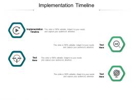 Implementation Timeline Ppt Powerpoint Presentation File Slideshow Cpb