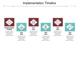 Implementation Timeline Ppt Powerpoint Presentation Show Example File Cpb