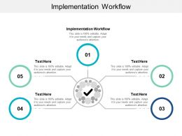 Implementation Workflow Ppt Powerpoint Presentation Layouts Graphics Cpb