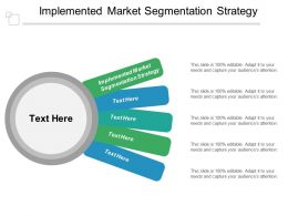 Implemented Market Segmentation Strategy Ppt Powerpoint Presentation Outline Vector Cpb