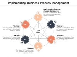 Implementing Business Process Management Ppt Powerpoint Presentation File Templates Cpb