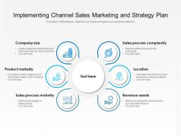 Implementing Channel Sales Marketing And Strategy Plan