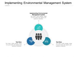 Implementing Environmental Management System Ppt Powerpoint Ideas Cpb