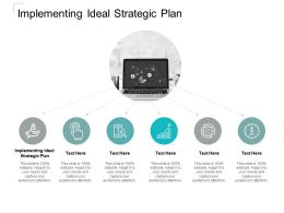 Implementing Ideal Strategic Plan Ppt Powerpoint Presentation Graphic Cpb