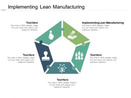 Implementing Lean Manufacturing Ppt Powerpoint Presentation Show Structure Cpb