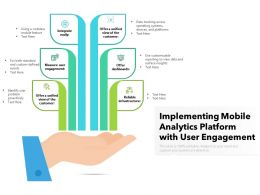 Implementing Mobile Analytics Platform With User Engagement