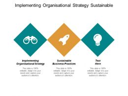 Implementing Organisational Strategy Sustainable Business Practices Business Collaboration Cpb
