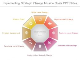 Implementing Strategic Change Mission Goals Ppt Slides