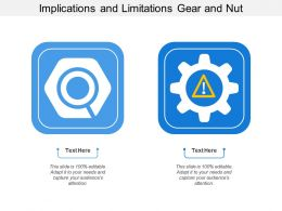 Implications And Limitations Gear And Nut