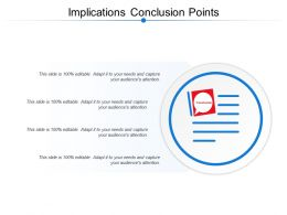 Implications Conclusion Points