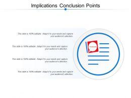 Implications Conclusion Points