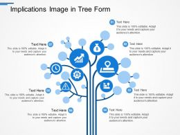 Implications Image In Tree Form