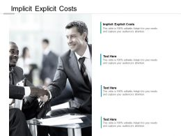 Implicit Explicit Costs Ppt Powerpoint Presentation Model Background Designs Cpb
