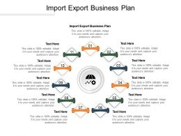 Import Export Business Plan Ppt Powerpoint Presentation Guide Cpb