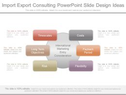 Import Export Consulting Powerpoint Slide Design Ideas
