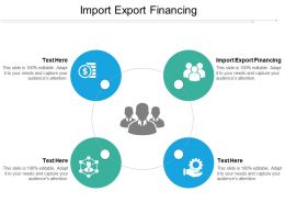 Import Export Financing Ppt Powerpoint Presentation Icon Infographic Template Cpb