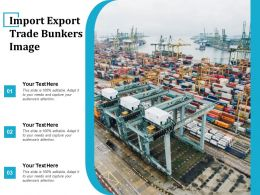 Import Export Trade Bunkers Image