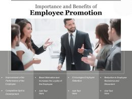 Importance And Benefits Of Employee Promotion
