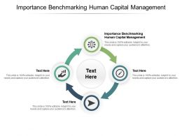 Importance Benchmarking Human Capital Management Ppt Powerpoint Presentation Slides Diagrams Cpb