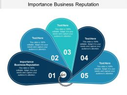 Importance Business Reputation Ppt Powerpoint Presentation Infographic Template Slides Cpb