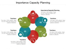 Importance Capacity Planning Ppt Powerpoint Presentation Slides Outfit Cpb