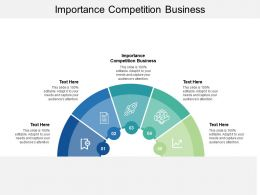 Importance Competition Business Ppt Powerpoint Presentation Portfolio Cpb