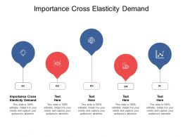 Importance Cross Elasticity Demand Ppt Powerpoint Presentation Visual Cpb
