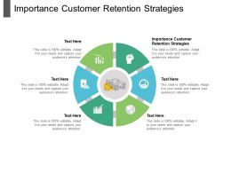 Importance Customer Retention Strategies Ppt Powerpoint Presentation Outline Background Images Cpb