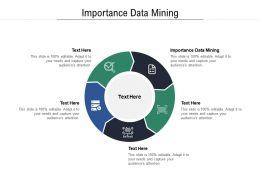 Importance Data Mining Ppt Powerpoint Presentation Summary Slides Cpb