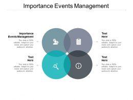 Importance Events Management Ppt Powerpoint Presentation Slideshow Cpb