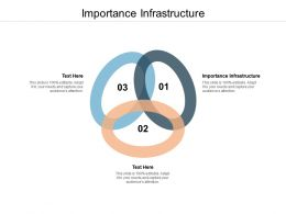 Importance Infrastructure Ppt Powerpoint Presentation Ideas Cpb