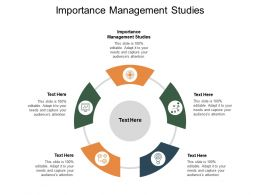 Importance Management Studies Ppt Powerpoint Presentation File Structure Cpb