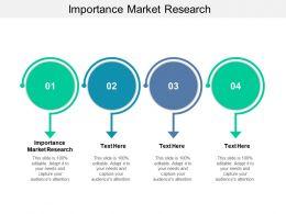 Importance Market Research Ppt Powerpoint Presentation Slides Portrait Cpb