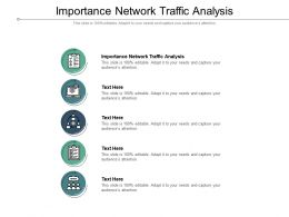 Importance Network Traffic Analysis Ppt Powerpoint Presentation Inspiration Template Cpb