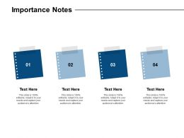 Importance Notes Planning L23 Ppt Powerpoint Presentation Slides Inspiration