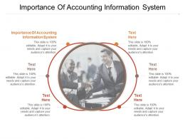 Importance Of Accounting Information System Ppt Powerpoint Presentation Portrait Cpb
