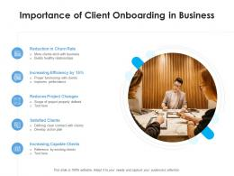 Importance Of Client Onboarding In Business