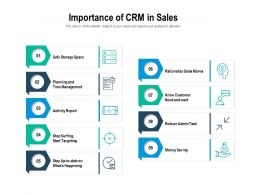 Importance Of CRM In Sales