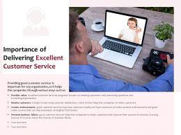 Importance Of Delivering Excellent Customer Service