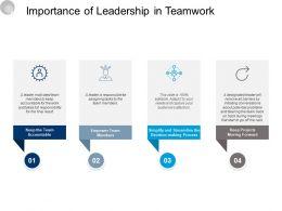 Importance Of Leadership In Teamwork