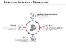 Importance Performance Measurement Ppt Powerpoint Presentation Professional Structure Cpb