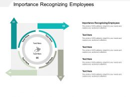 Importance Recognizing Employees Ppt Powerpoint Presentation Show Example Topics Cpb